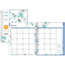 BLS 101582 Blue Sky Lindly Monthly Planner BLS101582