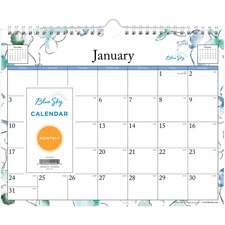 BLS 101593 Blue Sky Lindley Wall Calendar BLS101593
