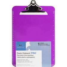 SPR 01862BX Sparco Plastic Clipboard SPR01862BX