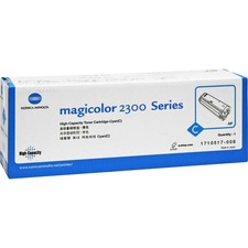 Minolta QMS Cyan High Capacity Toner Cartridge for Magicolor 2300 Series