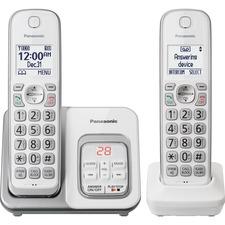 PAN KXTGD532W Panasonic Cordless Phone With 2 Handsets PANKXTGD532W