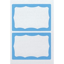 AVT 97048 Advantus Color Border Adhesive Name Badges AVT97048