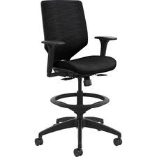 HON SVSU1ACLC10T HON Solve Seating ReActiv Fabric Back Task Stool HONSVSU1ACLC10T
