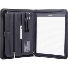 BND WRC1517BLK Bond Street Zippered Tablet Padfolio BNDWRC1517BLK