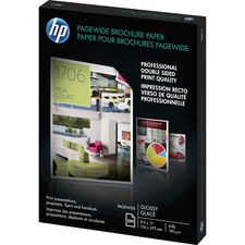 HEW Z7S64A HP PageWide Glossy Brochure Paper HEWZ7S64A