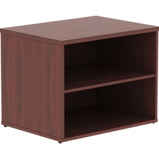 LLR 16214 Lorell Relevance Series Mahogany Laminate Office Furniture Credenza