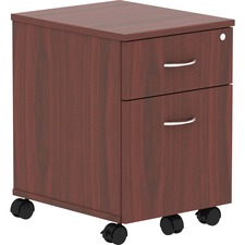 LLR 16216 Lorell Relevance Series Mahogany Laminate Office Furniture Pedestal