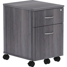 LLR 16217 Lorell Relevance Series Charcoal Laminate Office Furniture Pedestal