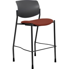 LLR 83119A203 Lorell Fabric Seat Contemporary Stool