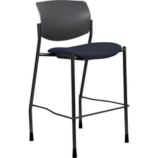 LLR 83119A204 Lorell Fabric Seat Contemporary Stool