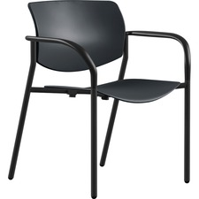 LLR 99969 Lorell Stack Chairs with Plastic Seat & Back