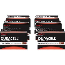 DUR 66241CT Duracell Quantum AAA Batteries DUR66241CT