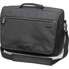 "SML 895795794 Samsonite Modern Utility Carrying Case (Messenger) for 15.6"" Apple Notebook, Tablet, iPad - Charcoal Heather, Charcoal"