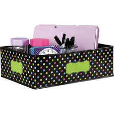 TCR 20765 Teacher Created Res. Chalkboard Decor Storage Bin TCR20765