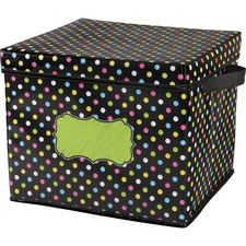 TCR 20766 Teacher Created Res. Chalkboard Decor Storage Bin TCR20766