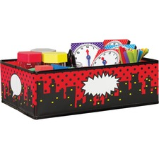 TCR 20768 Teacher Created Res. Super Hero Storage Bins TCR20768