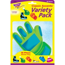 TEP 10657 Trend Class Accents Winter Play Variety Pack TEP10657