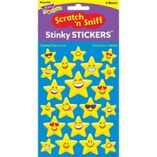 TEP 83030 Trend Emoji Stars Caramel Corn Stinky Stickers TEP83030