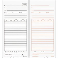 ACP 099115000 Acroprint Totalizing Time Clock Time Cards ACP099115000