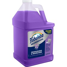 Fabuloso Professional All Purpose Cleaner & Degreaser - Concentrate Liquid - 1 gal (128 fl oz) - Lavender Scent - 1 Each - Purple