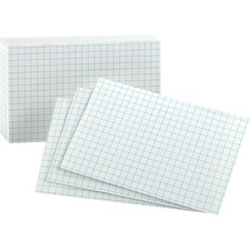 OXF 02035 Oxford Grid Index Cards OXF02035