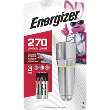 Energizer Vision HD Flashlight - AA - Metal - Chrome