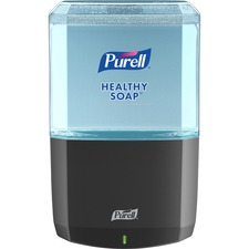 PURELL® ES8 Soap Dispenser - Automatic - 1.27 quart Capacity - Touch-free, Refillable, Wall Mountable - Graphite - 1Each