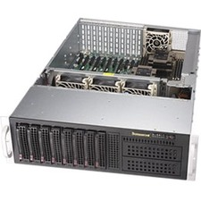 Supermicro SuperServer 6039P-TXRT Barebone System 3U Rack-mountable Intel C621 Chipset Socket P LGA-3647 2 x Processor Support Black 2 TB DDR4 SDRAM DDR4-2666/PC4-21300 Maximum RAM Support Serial ATA/600 RAID Supported Controller ASPEED AS SYS6039PTXRT