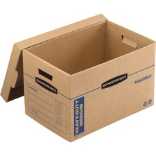 """FEL 7710301 Bankers Box Bankers Box Smoothmove™ Maximum Strength Moving Boxes, Medium, 8 Pack, 12""""H x 12.25""""W x 18.5""""D (7710301)"""