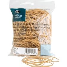 Business Source Rubber Bands - 425 / Pack - Natural