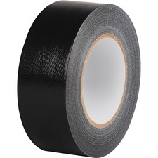 """Business Source General-purpose Duct Tape - 2"""" Width x 60 yd Length - Durable - 1 Roll - Black"""