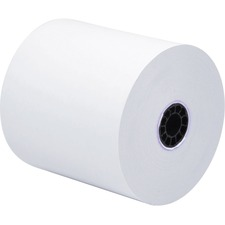 "ICONEX Direct Thermal Print Receipt Paper - 3 1/10"" x 273 ft - 50 / Carton - White"