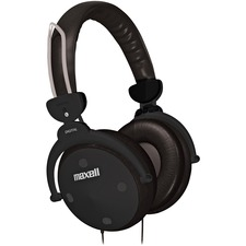 MAX 190562 Maxell HP-550 Digital Foldable Full Ear Headphones MAX190562