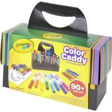 CYO 040382 Crayola Color Caddy 90 Art Tools in a Storage Caddy