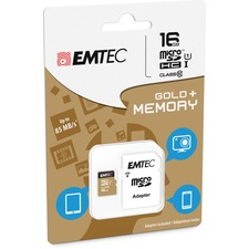 EMTEC M16GHC10GP microSDHC