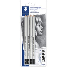 Staedtler Mars 100CSBK4A6 Sketching Pencil