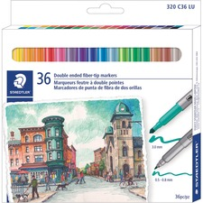 Staedtler 320C36LU Porous Point Pen
