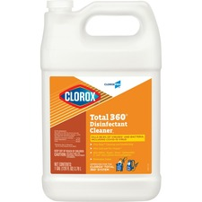 CLO 31650BD Clorox Commercial Solutions Total 360 Disinfectant Cleaner