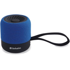 VER 70229 Verbatim Portable Bluetooth Speaker System - Blue