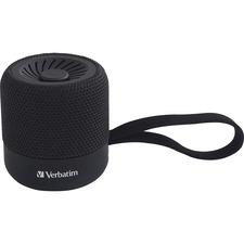 VER 70228 Verbatim Portable Bluetooth Speaker System - Black