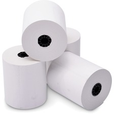 """ICONEX Thermal Print Receipt Paper - 3 1/8"""" x 230 ft - 50 / Carton - White"""