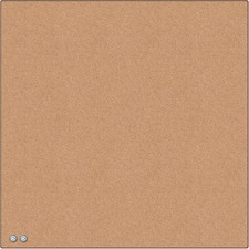 UBR 463U0004 U Brands Cubicle Cork Tile Board
