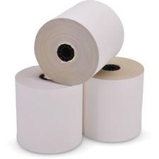 "ICONEX Carbonless Paper - 3 1/2"" x 80 ft - 60 / Carton - White"
