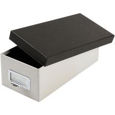 TOP 406350 Oxford 3x5 Index Card Storage Box