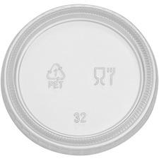 DXE PL40CLEAR Dixie Plastic Portion Cup Lid