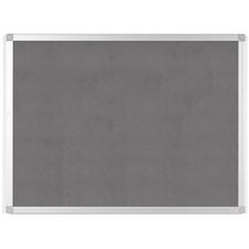 "BVC FA03429214 Bi-silque Ayda Fabric 24""W Bulletin Board"