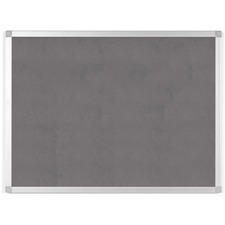"BVC FA05429214 Bi-silque Ayda Fabric 36""W Bulletin Board"