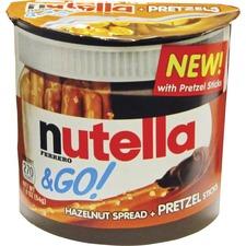Nutella Nutella & GO Hazelnut Spread & Pretzels - 1.80 oz - 12 / Box
