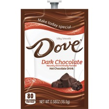 MDK A124 DOVE Drinks Dark Chocolate Hot Drink Freshpack