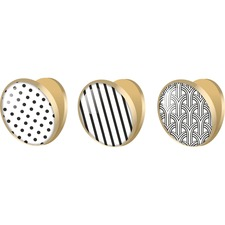 UBR 3936U0012 U Brands Fashion Magnet Clips